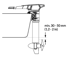 Shaft length for Torqeedo Cruise outboard