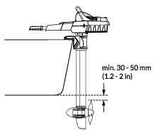 Shaft length for Torqeedo Travel outboard