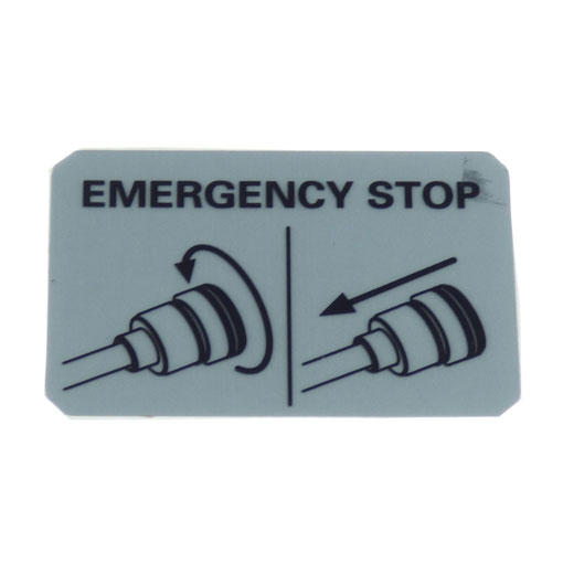 "Torqeedo Sticker ""Emergency"""