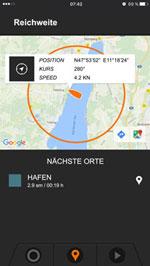 Karte & Reichweiten