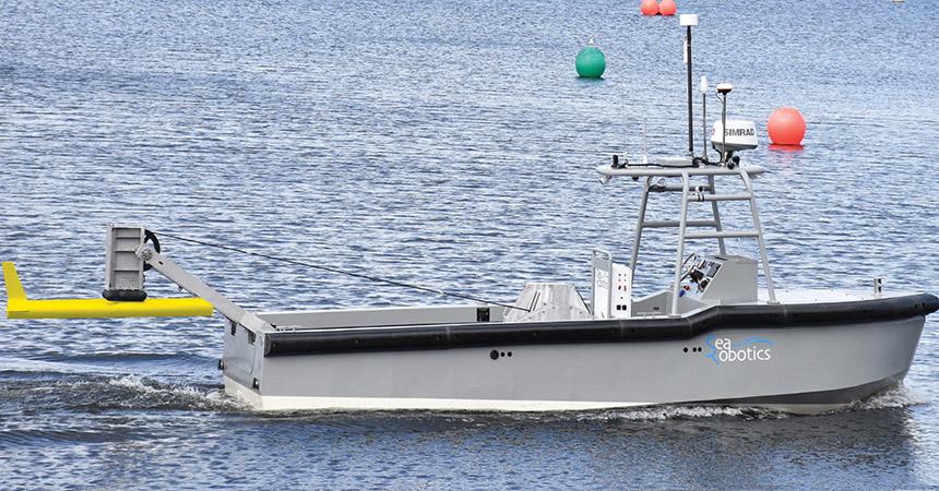 New SeaRobotics hybrid-electric autonomous research boat is powered by Torqeedo