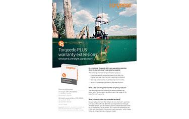 Torqeedo Ultralight Warranty Extension Flyer