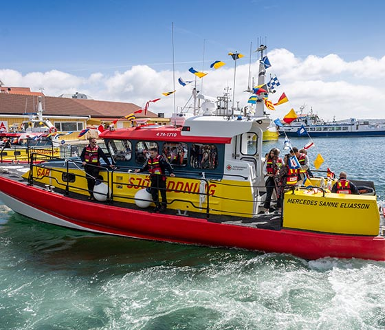 Torqeedo to the rescue: new Swedish Sea Rescue Society boat is first with dual diesel and electric power
