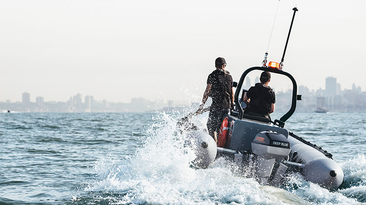 Electric outboards for commercial use