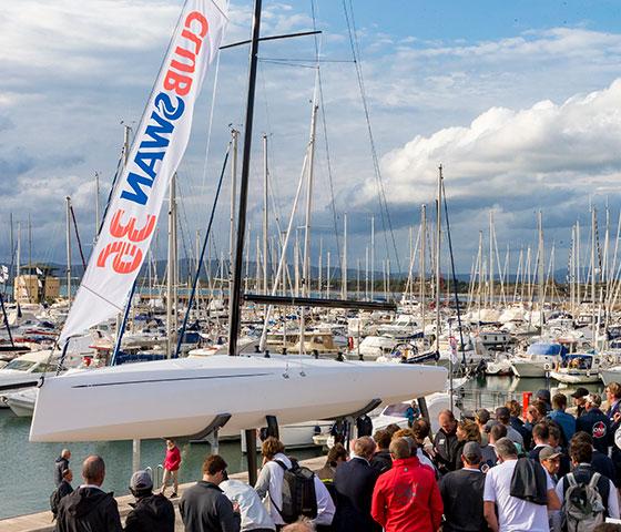 Club Swan 36 Launch - Torqeedo