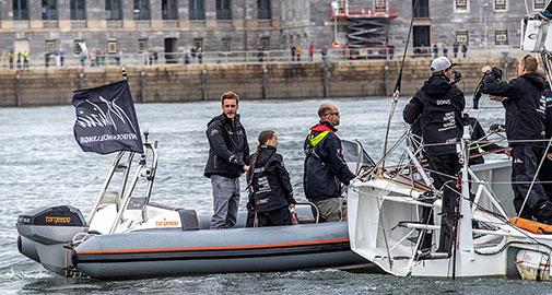 Greta Team Malizia Torqeedo - e-mobility on the water