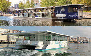 Ferries and water taxis