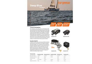 Torqeedo Deep Blue sailboats Flyer