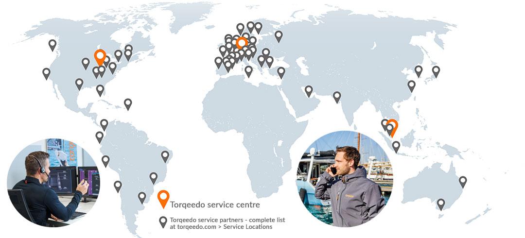 Torqeedo Service Locations